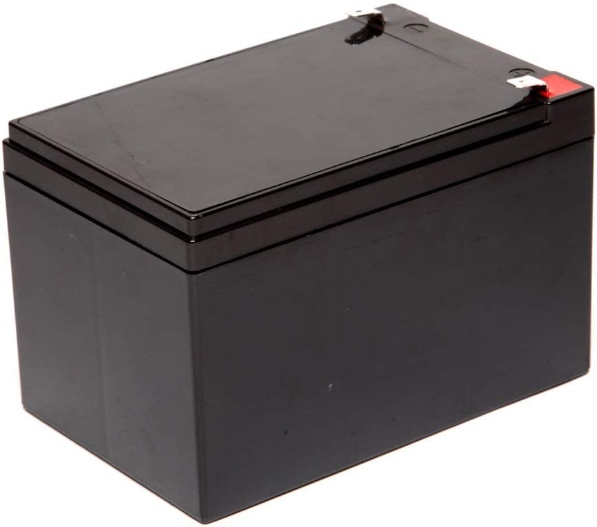 Rechargeable Replacement for Scooters and UPC Units Chrome Battery 12V 14AH SLA Battery