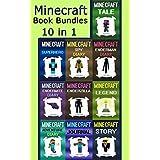 Minecraft Book Bundles: Minecraft 10 Books in 1 Minecraft Set (Minecraft, Minecraft Book, Minecraft Book Bundle, Minecraft Box Set, Minecraft Books, Minecraft ... Diaries, Minecraft Diary, Minecraft Book)