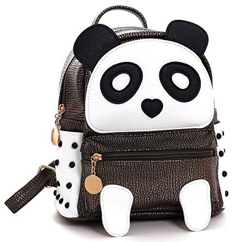 Women's Multipurposes Backpack Lightweight Cute Mini Casual Panda Shoulder Bags