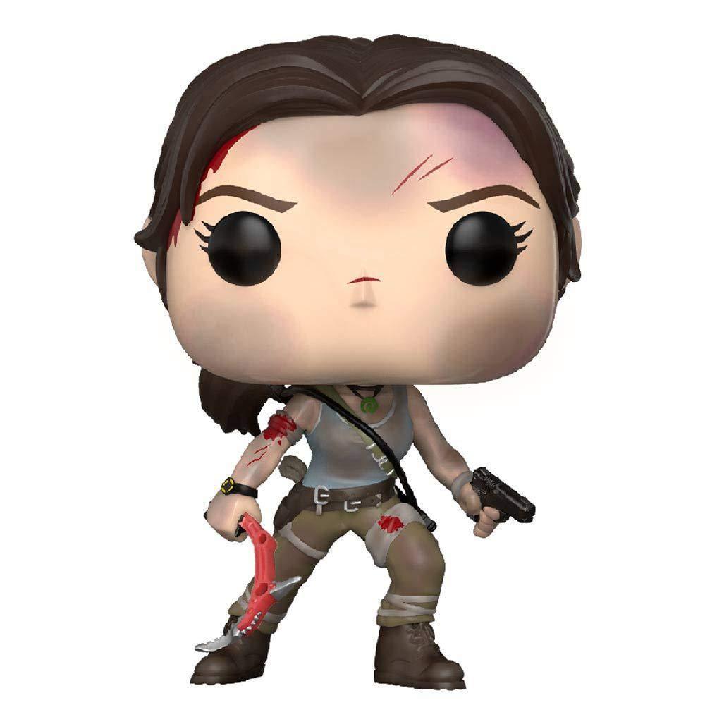 Funko POP! Games: Tomb Raider Lara Croft Collectible Figure, Multicolor