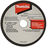 Makita 724107-5-10 4-Inch by 5/8-Inch by 5/64-Inch Cut-off Wheel, Metal, 10-Pack