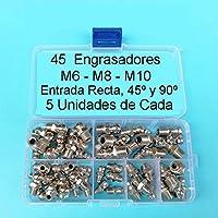Movilideas - Set de Engrasadores M6 - M8