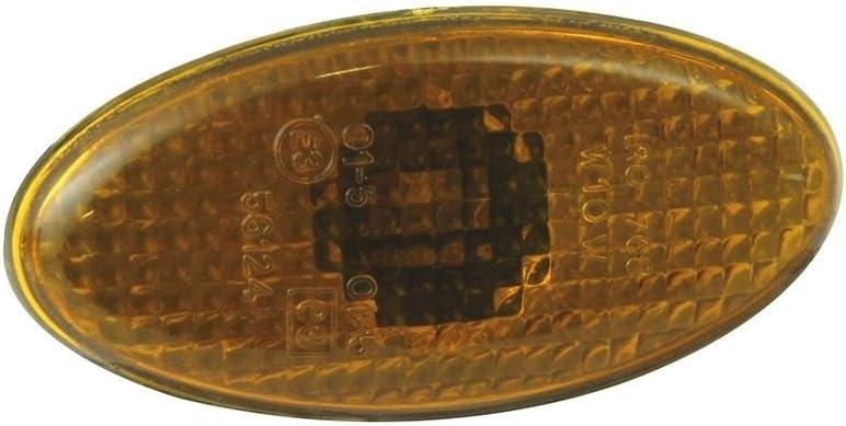 Clignotants encastr/és Petit ovale slim type de verre fum/é Paire