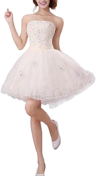 2b726a2be3665  ノーブランド品 花嫁ミニ ウェディングドレス 結婚式 披露宴 二次会 ウェディングドレス パーティードレス ビスチェ ウエディングドレス 二次会  ドレス ミニドレス