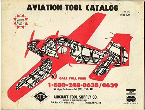 Aviation Tool Catalog Aircraft Tool Supply Company Oscoda -