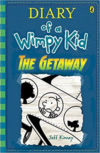 The getaway diary of a wimpy kid bk12 diary of a wimpy kid book the getaway diary of a wimpy kid bk12 diary of a wimpy kid book 12 9780143782797 amazon books solutioingenieria Image collections