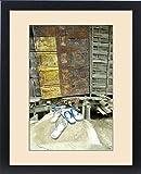 Framed Print of Sumoimari Ghat, Majuli Island, Assam State, northeast India, door and porch of a