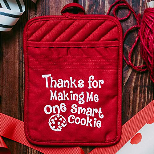 Teacher Gift Unique Appreciation Thank You End of the Year Present - Set of 2 (Cookie Teacher Gift)