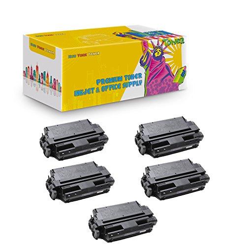 New York TonerTM New Compatible 5 Pack 63H2401 High Yield Toner for IBM - 4317   4317 . -- Black