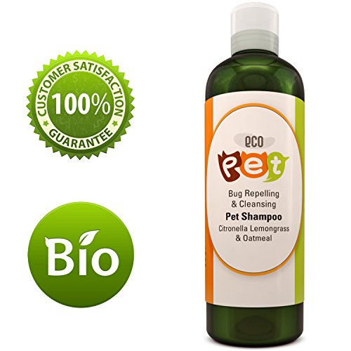 Honeydew Oatmeal Dog Shampoo for Itchy Skin with Pure Citronella Essential Oil - Natural + Nourishing - Dog Grooming Shampoo - Pet Odor Removal - Soft + Shiny Coat - Sensitive Skin
