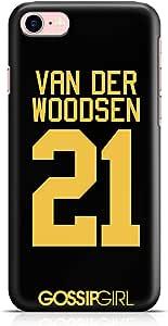Loud Universe iPhone 8 Case Gossip Girl Case Van Der Woodsen 21 Tv Show New Slim Wrap Around iPhone 8 Cover