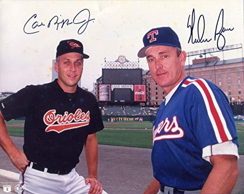 Cal Ripken Jr & Nolan Ryan Autographed 8x10 Photo