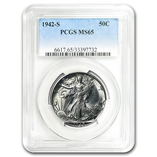 1942 S Walking Liberty Half Dollar MS-65 PCGS Half Dollar MS-65 PCGS