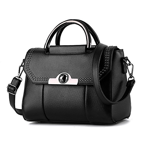 De Match Coreana Meoaeo Mini black Hombro Claret Bolso Lady All Moda qWYY5wta
