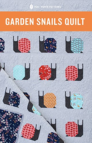 Garden Pattern Paper (Pen and Paper Patterns- Garden Snails Quilt Pattern)