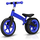 Costzon Kids Balance Bike, Classic Lightweight No-Pedal Learn to Ride Pre Bike w/Adjustable Handlebar & Seat Cycling Training for Toddlers, Walking Bicycle
