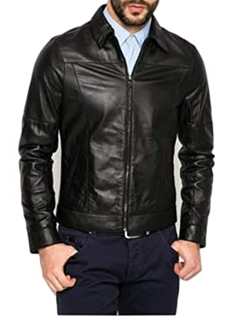 buy online 327d1 5deea Guess Giacca Pelle Marciano Uomo Nero tg M,L,XL,XXL A1/32, M ...