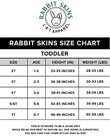 Rabbit Skins Toddler Girls 100/% Cotton Dress White 4T