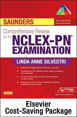 Saunders Comprehensive Review for the NCLEX-PN? Examination - Pageburst E-Book on VitalSource + Evolve Access (Retail Access Cards), 5e 5th (fifth) Edition by Silvestri PhD RN, Linda Anne published by Saunders (Nclex Pn 5th)