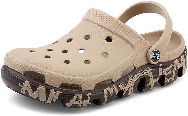 ailishabroy Zapatos de Jardín Ligeros para Hombres Sandalias de Cocina de Playa para Exteriores Zapatillas Cloggis: Amazon.es: Zapatos y complementos