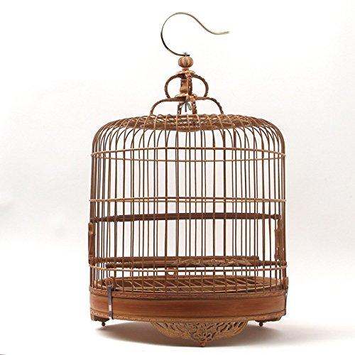 L 2626cm Pet Online Birdcage carving bamboo cage pet supplies ,l 2626cm circle