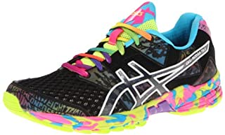 Asics GEL NOOSA TRI 8 Mens Running Shoes Onyx Black Confetti