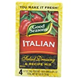 Good Seasons Salad Dressing & Recipe Mix, Italian, 0.7 oz., 4-Count Packets (Pack of 4) by Good Seasons