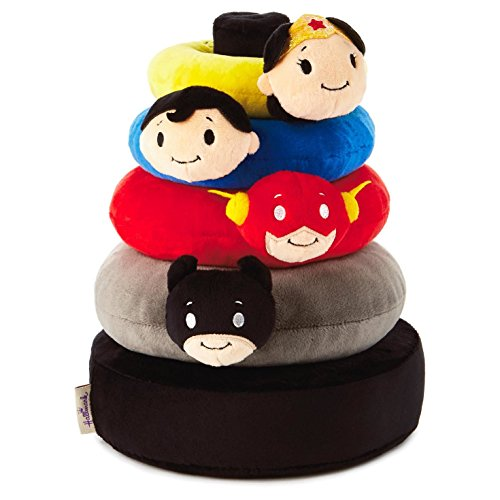itty bittys DC Comics Super Hero Baby Stuffed Animal Stacker Baby Essentials Superheroes -