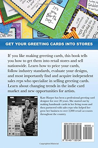 Get Your Greeting Cards Into Stores Finding And Working With Sales Reps Kate Harper 9781461132134 Amazon Books