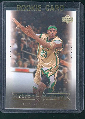 2003 Upper Deck #2 State Champs Lebron James Rookie Card - Mint Condition Ships in a Brand New Holder