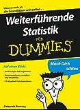 Weiterführende Statistik für Dummies
