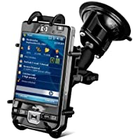 RAM Mounts (RAM-B-166-PD3) Universal Rugged Pda Adjustable Twist Lock Suction Cup Mount