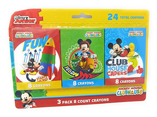 Twilight Patio Chair (Back to School Toddler Pre-school Elementary School Supplies Crayons Mickey Mouse (2 Packs))