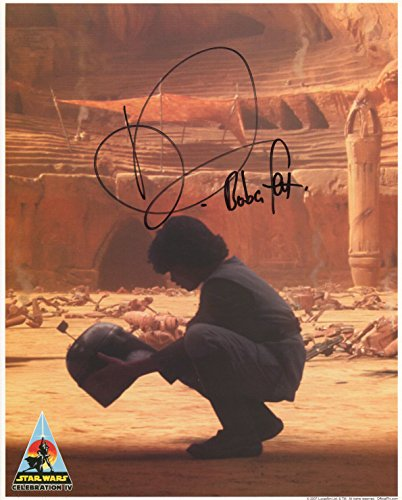 Daniel Logan Signed / Autographed Star Wars Photo As Boba Fett, Attack of the clones, Includes Fanexpo Fanexpo Certificate of Authenticity and Proof. Entertainment Autograph Original. Clone wars.
