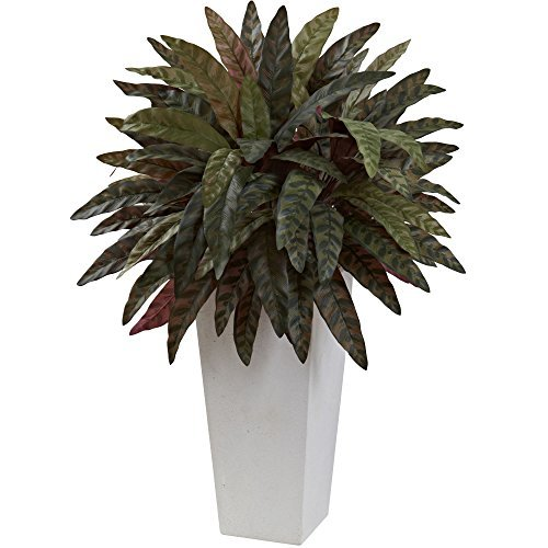 Nearly Natural 6841 Peacock Artificial Plant with White P...