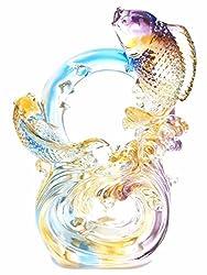 Liuli Ornament of Crystal glass