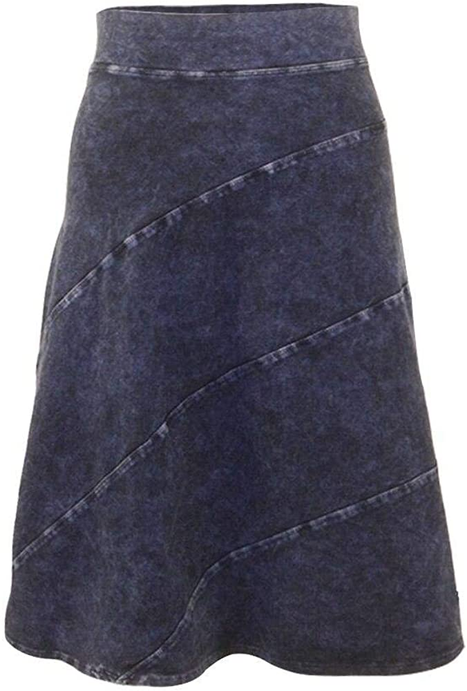 Hard Tail Forever A-Line Circle Skirt, Knee Length and Flairy Style W-555