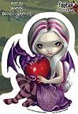 Jasmine Becket-Griffith - Valentine Dragon Fairy - Sticker / Decal