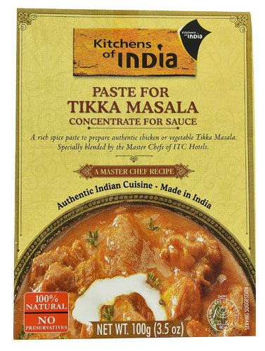 Kitchens Of India Paste for Tikka Masala Concentrate For Sauce -- 3.5 oz