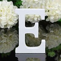 Meisijia 26 Grandes Lettres en Bois Alphabet Tenture de soirée de Mariage Accueil Boutique Décoration