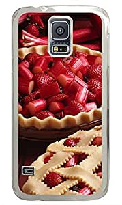 Samsung Galaxy S5 Strawberry food PC Custom Samsung Galaxy S5 Case Cover Transparent