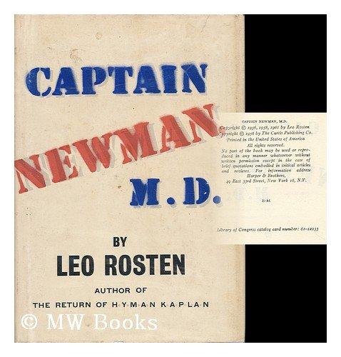 Captain Newman, M.D. by Leo Calvin Rosten