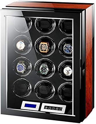 時計ワインダー12時計、高品質の超静かな動きは、複数のスポーツモードの反磁化の設計と LED ライト