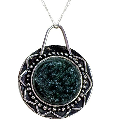 rling Silver Pendant Necklace, 18