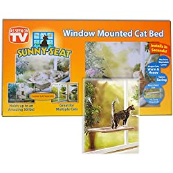 Window Mounted Cat Bed