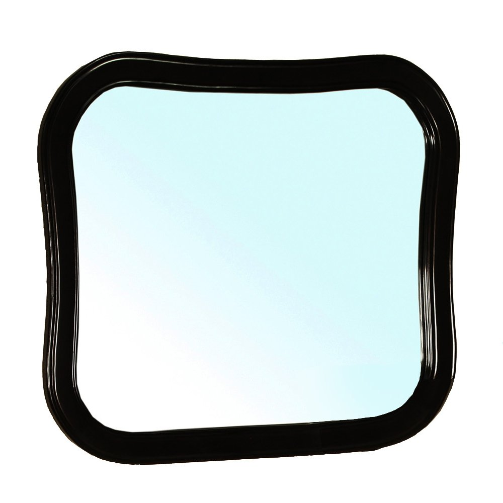 Bellaterra Home 203037-MIRROR-ES Solid Wood Frame Mirror, Espresso