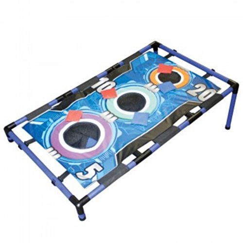 - Kole Imports Three Hole Toss Game Bean Bags One Board Game 6 Bags