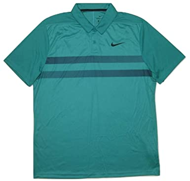 cb95a704 Image Unavailable. Image not available for. Color: Nike Men's Essential Dri-FIT  Striped Golf Polo ...