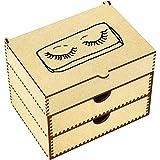 Azeeda 'False Eyelashes' Vanity Case / Makeup Box (VC00012055)