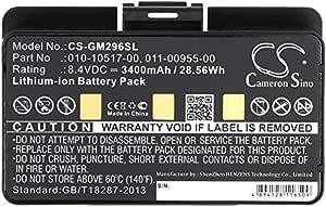 GLO 2 010-01055-15 010-02184-01 CS Bater/ía de ion de litio para Garmin GLO sustituye a Garmin 010-11935-00